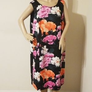 Vince Camuto Plus Size Floral Print Dress